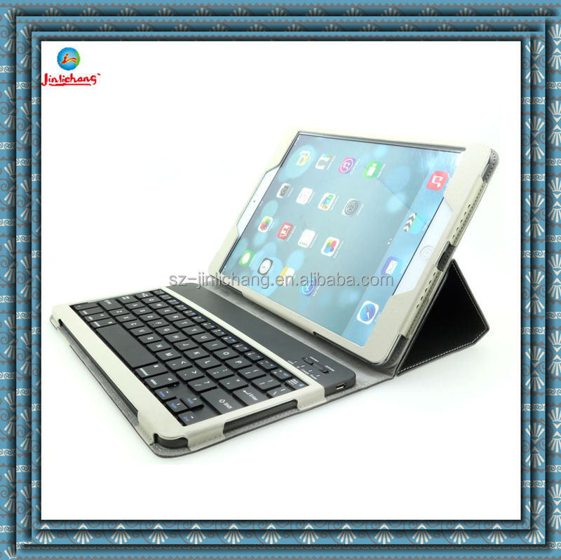 bluetooth keyboard leather case for ipad air 5