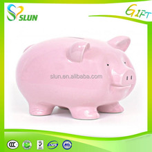 Colorful piggy bank to paper money wholesale