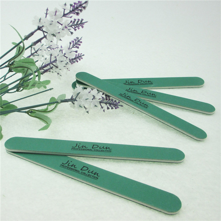 Waterproof and abrasive proof green personalized nail file manufactory