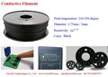 3D Printer,3D Paint Pen, Conductive ABS filament,ABS PLA Fiament,1.75mm,3mm 1kg/spool