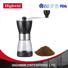 Manual FDA Manual Coffee Grinder Ceramic Burr Core for Brewing Baking Coffee