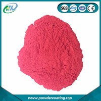 Anti corrosion polyester resin spraying for red color powder coatings