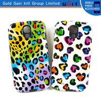 Wholesale Hybrid TPU Gel + PC Hard Cover Case For Samsung S4 i9500 Cover Cases