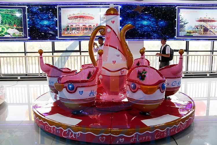 Amusement equipment indoor game interesting coffee cups ride
