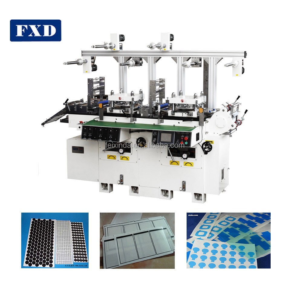 Kinds Of Copper Foil Automatic Die Cutting Machine