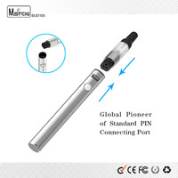 free sample free delivery 2 pin ports ecigarette no leakage vape bud 105 cigarro electronico