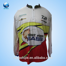 Canada customized polyester sea fishing clothing /fishing wear