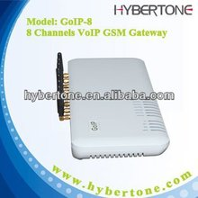 VOIP GSM gateway with 8 SIM cards in