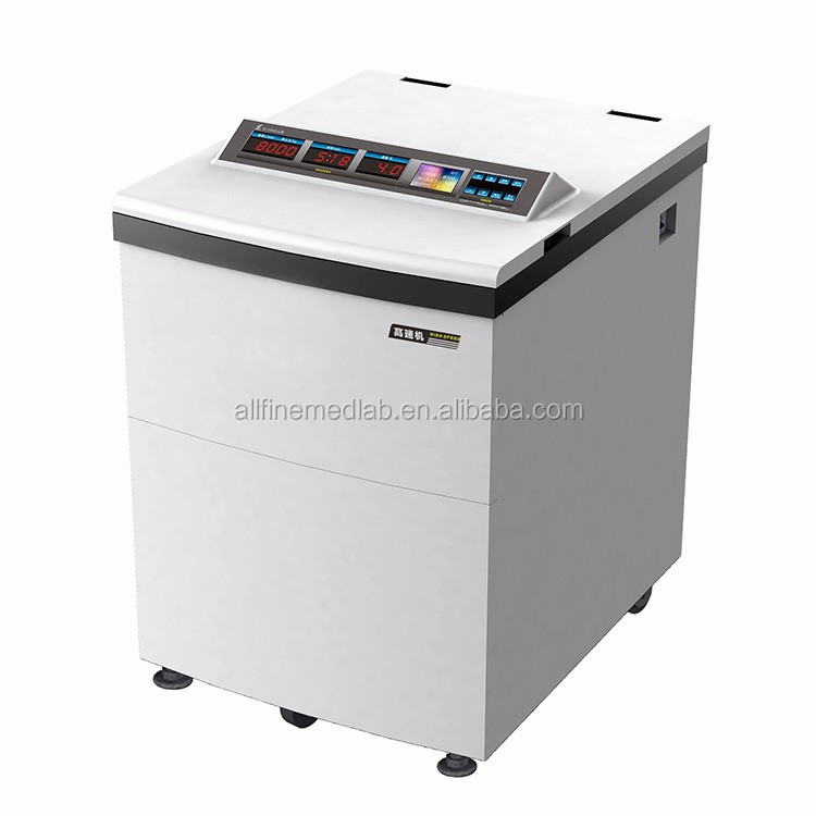 Floor-type high speed blood bank refrigerated cold centrifuge