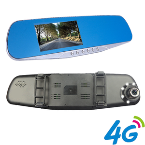 Rearview Mirror+GPS+WIFI+DVR+AV-IN+ Car Back Camera+Android 4.4 Capaction Touch Creen Dash Dvr Car Recorder