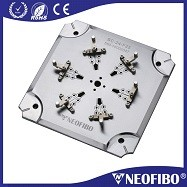 Simple Operation SMA ferrule holder fiber optic polishing Plate