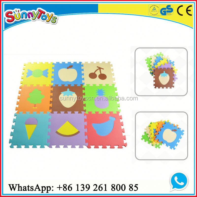 Hot selling kids indoor soft floot EVA mat playground wholesale table mate