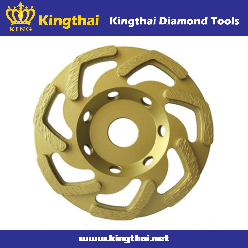 Diamond tools super abrasive wild type segment grinding cup wheel for concrete masonry brick and stone