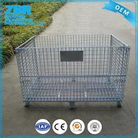 Low price collapsible welding galvanized steel wire mesh panels
