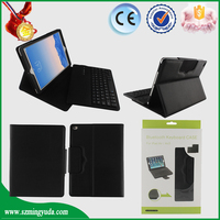 Best Selling tablet pc case cover with Spanish for ipad keyboard