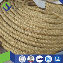 1 inch diameter twisted sisal hawserlaid rope made in Shandong