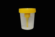 UNIVERSAL URINE SAMPLE BOTTLES/POTS/CONTAINERS/CUPS 27ML BOTTLE SAME AS NHS plastic test tubes with cap