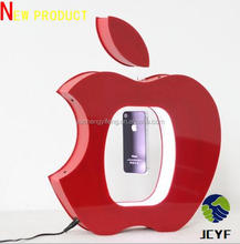 new advertising ideas ! acrylics levitation floating mobile phone levitron with customer icon