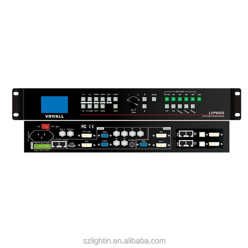 led screen processor LVP605 4x4 hdmi video wall controller
