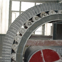 Excellent tough ability cleated conveyor belt for sale
