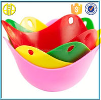 plastic microwave egg cooker Promotional silicone fried egg former