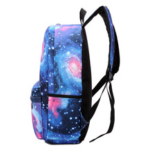 Ecoparty British Flag Stars Bag Mochilas Feminina Women Backpack Silver Galaxy Space Printing Backpack School Book Backpacks