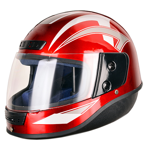 Popular in Pakistan market cheap and affordable full face morotcycle helmet with sun visor