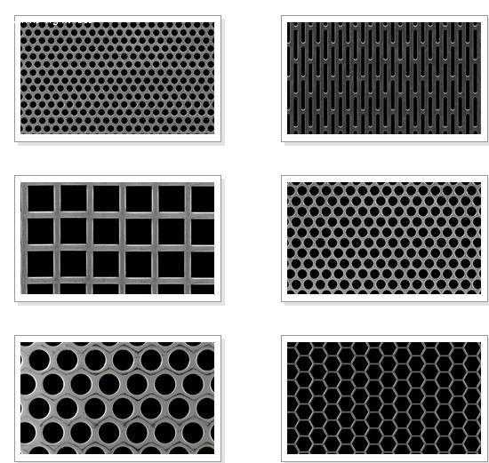 decorative perforated metal sheet panels galvanized