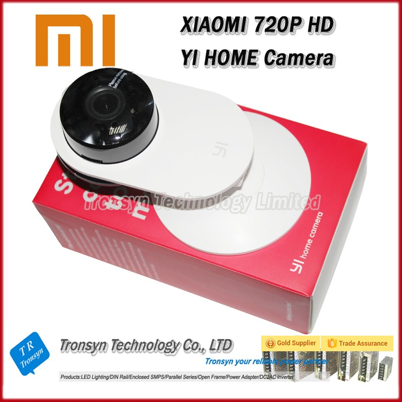 YI Home Camera Wireless WiFi HD 720P Infrared Night Web Camera XiaoYI IP Camera