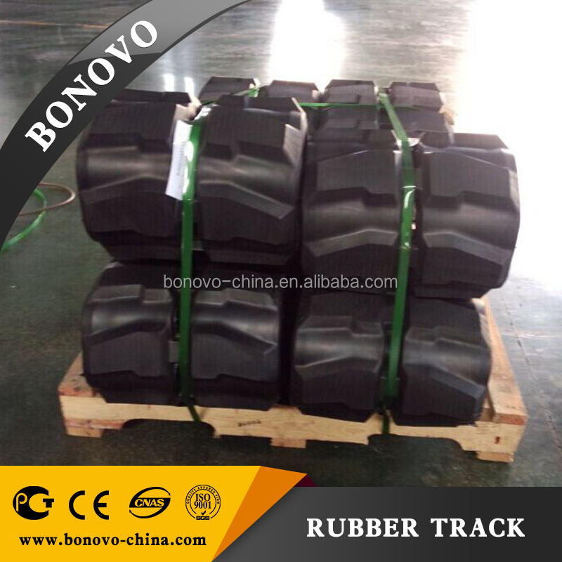 VOLVO EC14 230x72x43 rubber track, rubber pad ,rubber crawler made from natural rubber for Excavator