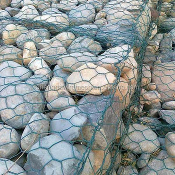 hot dipped galvanized gabion basket for stone