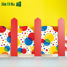 Phenolic material kids toilet cubicles partitions with low price