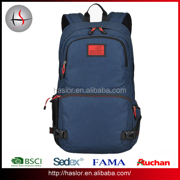 f49546a05c 2016 High school bags trendy backpack with laptop compartmnet for male