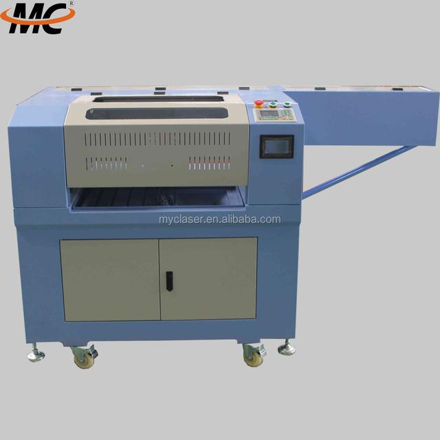 MC 6040 glass / rubber / photo frame / paper laser cutting machine price
