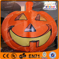 Commercial use CE and BV inflatable party supplies halloween pumpkin light decorations for sale