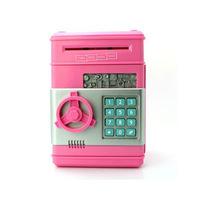 Wholesale Creative styling ATM piggy bank, automatically save Safe money saving box ,Mini cartoon piggy bank saving money