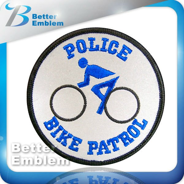 Embroidery Reflex Patches For Bike