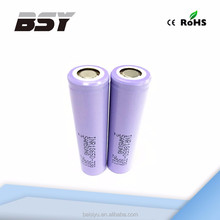 rechargeable battery li-ion samsung sdi 18650 small size with high capacity battery