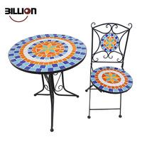 Hot Sale Iron Mosaic Outdoor Garden