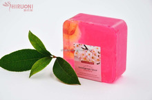 handmade oriental cherry,Sakura oil soap with good smell, customized