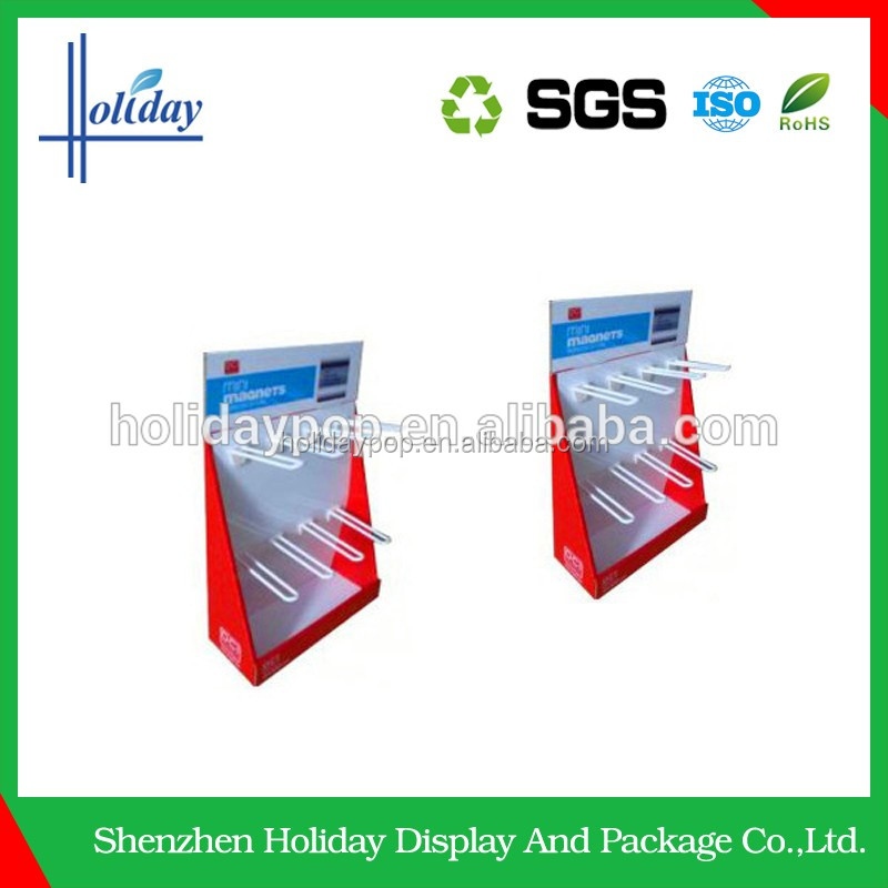 Hanging Toothbrush Cardboard floor Display Stand Wholesale