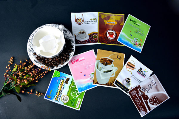 Laminated Material Material and coffee Use packaging