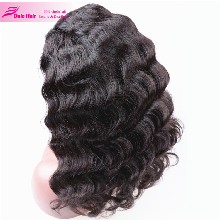 2017 new popular loose weave lace wigs synthetic full lace wigs with baby hair