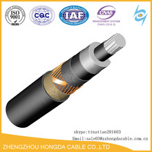 36 kv Copper Watertight Non-armored Power Cable Ug Cvt Power cable