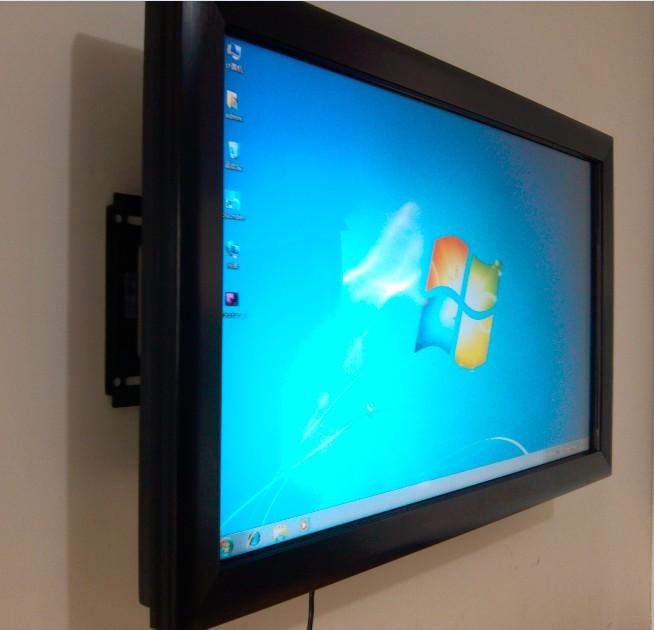 55 inch multi touch screen overlay