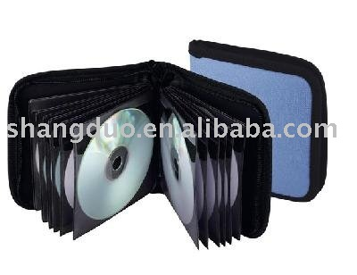 Guangzhou Manufacture Popular Leather Cool CD Case