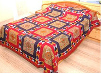 Hand made Embroidered Bedsheet for home