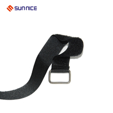 Eco-Friendly nylon carrying book adjustable hook loop strap