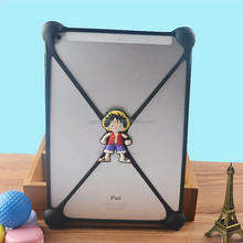 Factory Drict Sales Silicone tablet back cover rubber tablet back cover