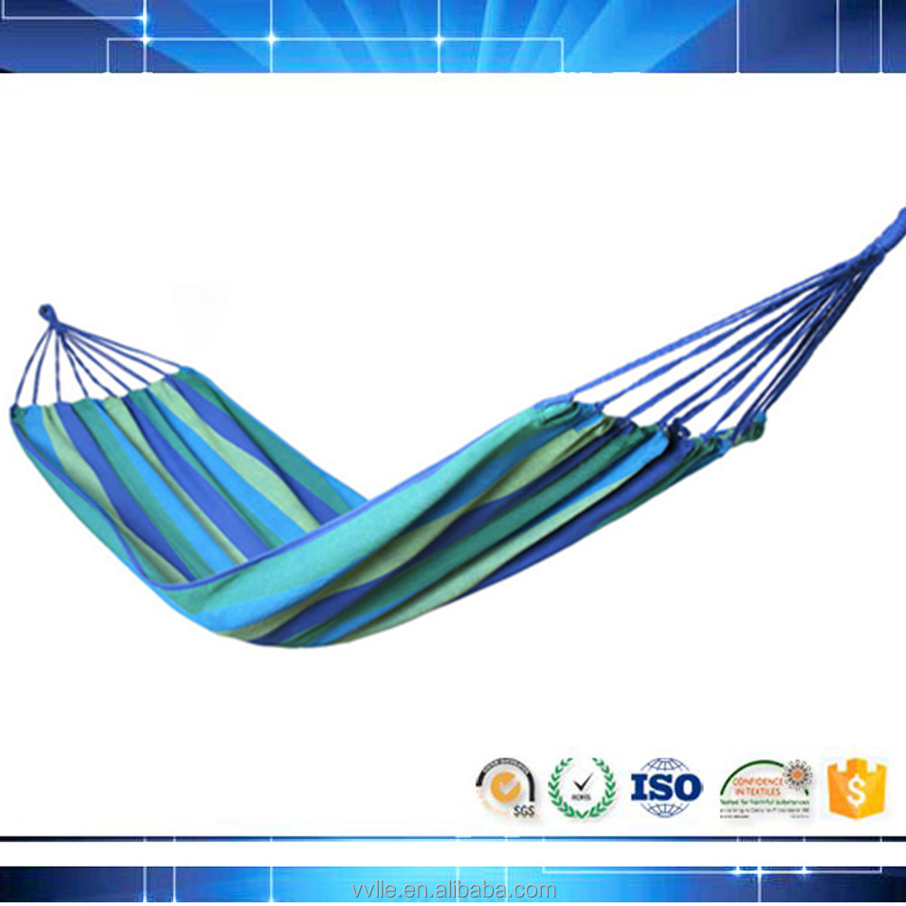 free shipping lightweight make fabric portable hammock for 2 person